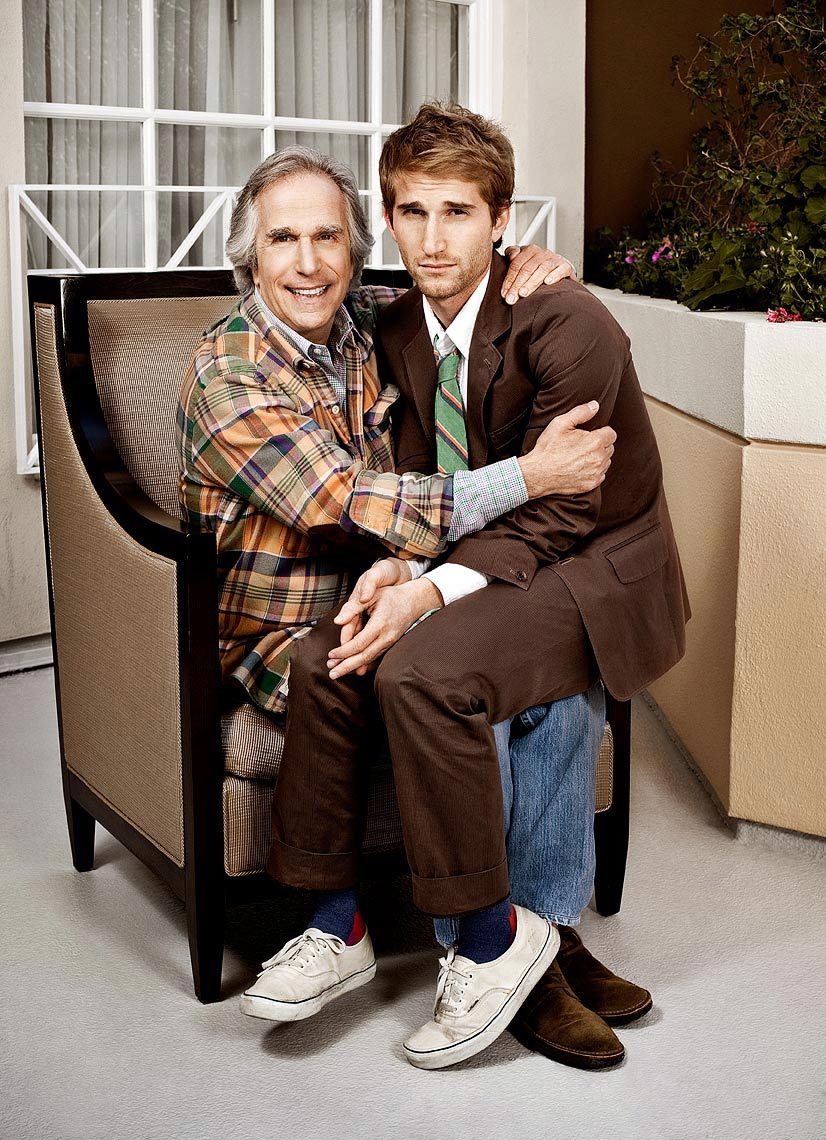 Henry Winkler and Max Winkler