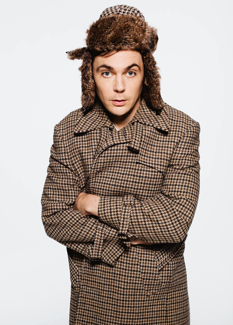 Jim Parsons - Hat and Coat
